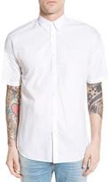 Zanerobe Rugger Oversize Longline Short Sleeve Woven Shirt
