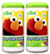 Sesame Street Fizzy Tub Color Tablets