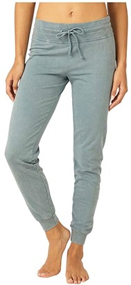 Beyond Yoga Hey Chambray Midi Swegging (Washed Stormy Blue) Women's Casual Pants
