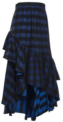 Temperley London Stirling Asymmetric Jacquard Skirt