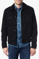 7 For All Mankind Luxe Performance Black Sherpa Lined Jacket