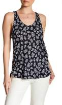 Joe Fresh Paisley Ruffle Tank