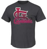 St. Louis Cardinals Men's Charcoal Heather T-Shirt