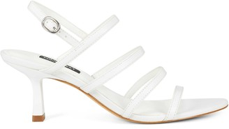 Nine West Smooth Heeled Strappy Sandals