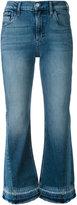 Calvin Klein Jeans fringe hem jeans - women - Cotton/Polyester/Spandex/Elastane - 25