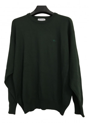 Burberry Green Wool Knitwear & Sweatshirts