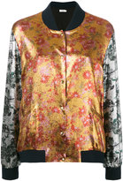 Roseanna lamé bomber jacket - women - Silk/Cotton/Polyester/Spandex/Elastane - 36
