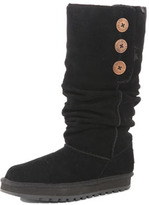 Dorothy Perkins Black button long boot