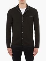 Lanvin Black Knitted Shirt-jacket