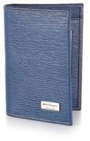 Salvatore Ferragamo Revival Textured Leather Card Case