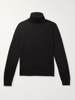 Tom Ford Slim-Fit Cashmere And Silk-Blend Rollneck