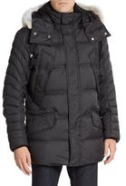 Andrew Marc Stowaway Down Fur-Trimmed Jacket
