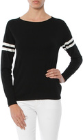 Monrow Athletic Knit Sweatshirt