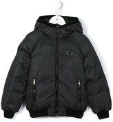 Dolce & Gabbana hooded padded jacket