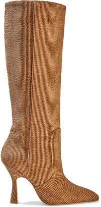 Stuart Weitzman Parton Corduroy Knee Boots