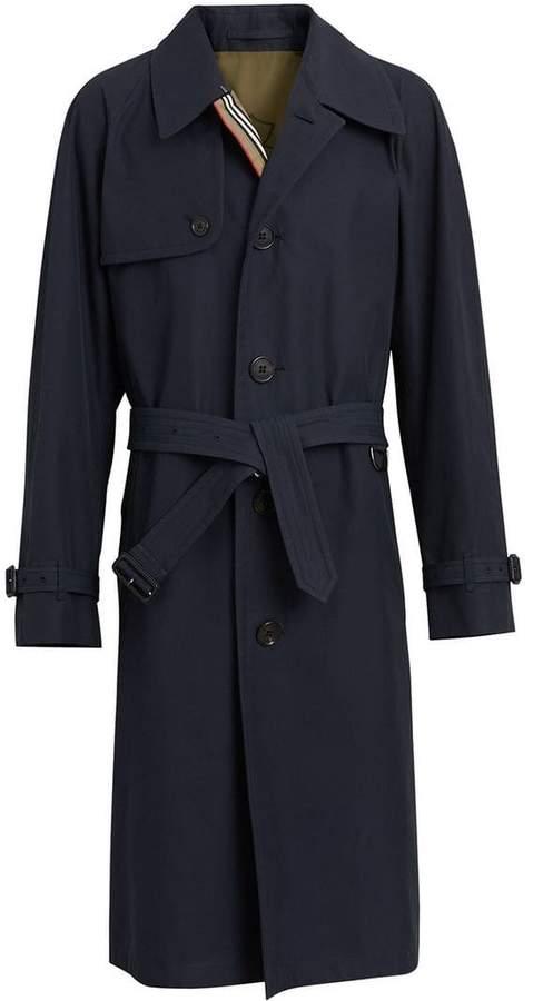 Burberry Heritage stripe gabardine trench coat