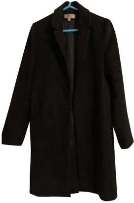 Jasmine Di Milo Black Cashmere Coat for Women