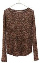 Ragdoll LA RAGLAN LONG SLEEVE Brown Leopard