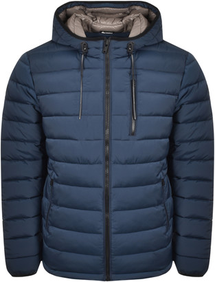 Moose Knuckles Roughstock Quilted Jacket Blue
