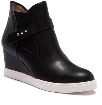 Linea Paolo Freshton High Top Wedge Sneaker