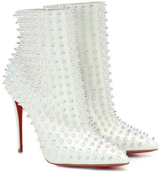 Christian Louboutin Exclusive to Mytheresa a Snakilta 100 leather ankle boots