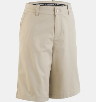 Under Armour Boys' Pre-School UA Uniform Chino Slim Fit Shorts