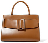 Boyy Bobby Large Buckled Leather Tote - Light brown