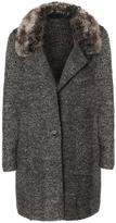 Dex Fur Collar Cardigan