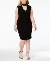 Soprano Trendy Plus Size Gigi Bodycon Dress