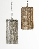 Regina-Andrew Design Lancelot Chain-Mesh 1-Light Pendant