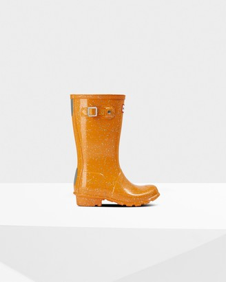 Hunter Original Big Kids Giant Glitter Rain Boots