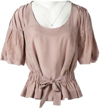 Anne Valerie Hash Pink Silk Tops