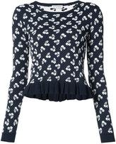 Altuzarra floral jumper - women - Viscose/Polyimide - XS