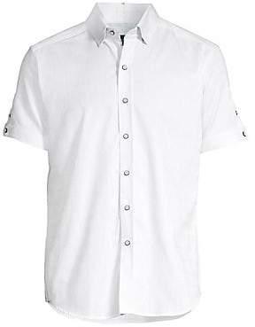 Robert Graham Men's Bozeman Stretch Cotton Shirt