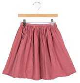 Caramel Baby & Child Girls' Gathered-Accented Skirt