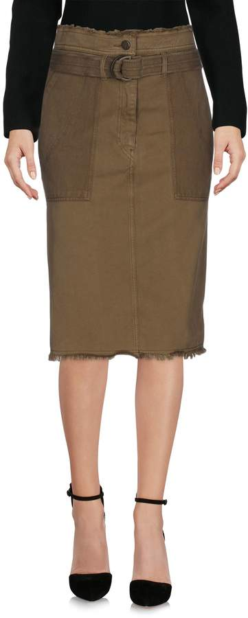 Vanessa Bruno Knee length skirts - Item 35328960SW