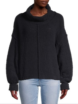 Free People Be Yours Bishop-Sleeve Sweater