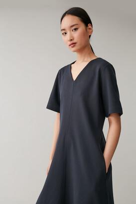 Cos A-Line Jersey Dress