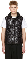 Junya Watanabe Black Duvetica Edition Quilted Down Vest