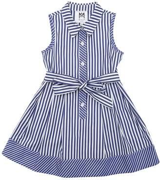 Milly Striped Cotton Poplin Dress