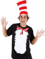 Elope Dr. Seuss Cat In The Hat Adult Costume T-Shirt Kit