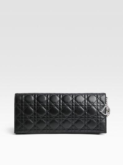 Christian Dior Lady Large Clutch