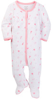 Absorba Pink Jungle Animals Footie (Baby Girls)