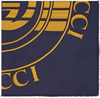 Gucci Logo-Print Scarf