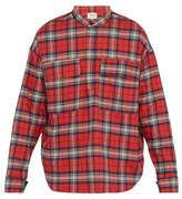 Fear Of God - Plaid Cotton Flannel Shirt - Mens - Red Multi