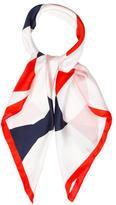 Kate Spade Bow Print Silk Scarf w/ Tags