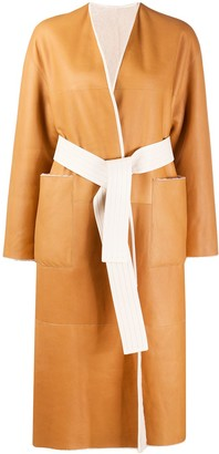 Blancha Belted Mid-Length Coat
