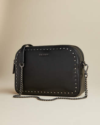 Ted Baker FLOSSIE Soft leather studded camera bag