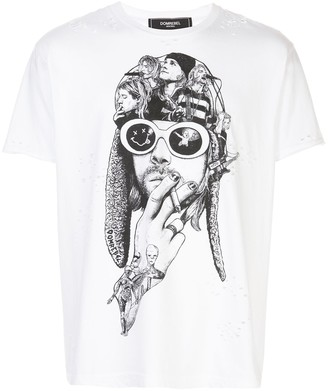 Dom Rebel Teen Spirit printed T-shirt