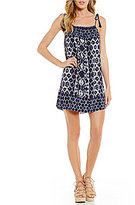 BB Dakota Lyndon Printed Shift Dress